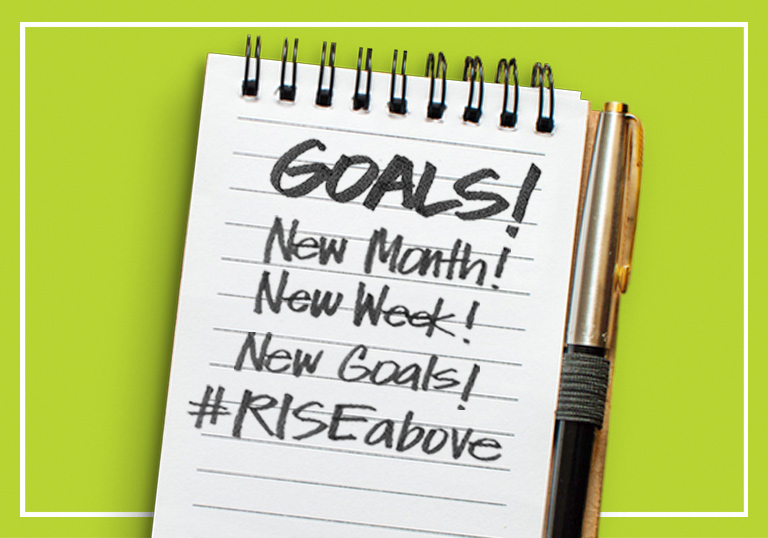 RISE is celebrating Self-Improvement Month by hosting a weekly giveaway series we call #RISEabove.